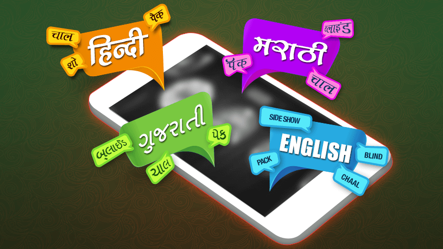 Teen Patti Languages