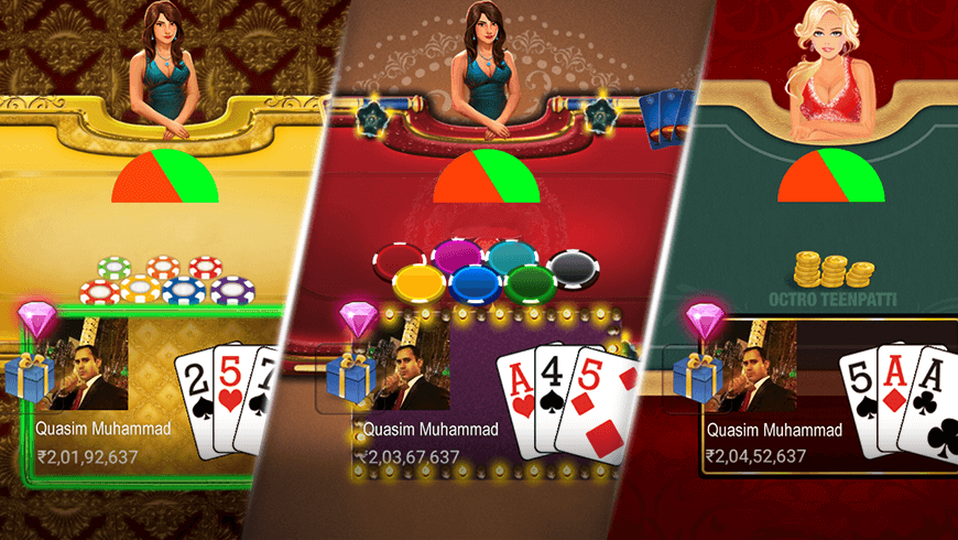 Teen Patti Themes